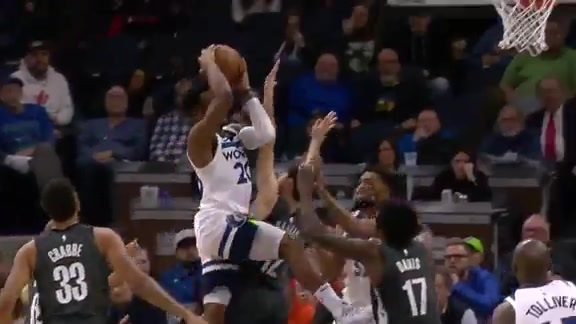 Okogie With The Layup In Traffic