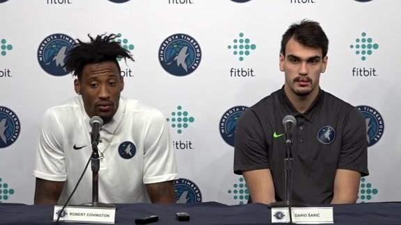Introductory Press Conference | Robert Covington, Dario Saric & Jerryd Bayless