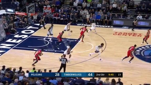 Dario Saric Highlights In 1st Game With Wolves