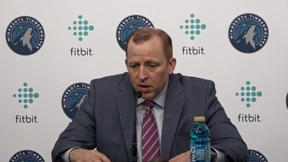 Postgame - Nov. 14 | Tom Thibodeau