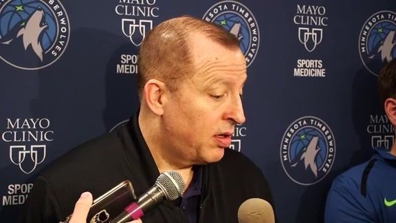 Practice Report - Nov. 15 | Tom Thibodeau