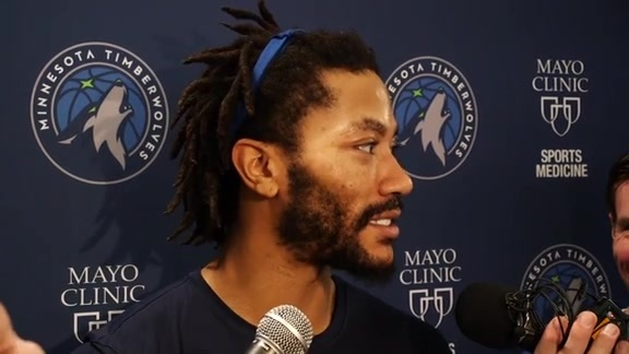 Practice Report - Nov. 15 | Derrick Rose