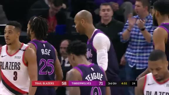 Gibson Slams It Home Off Rose Assist