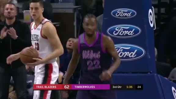 A Steal And A Slam From Wiggins