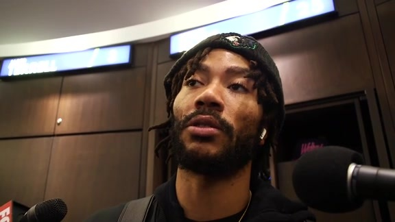 Postgame - Nov. 16 | Derrick Rose
