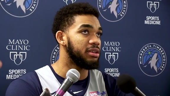 Practice Report - Nov. 20 | Karl-Anthony Towns