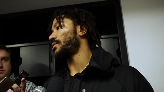 Postgame - Nov. 26 | Derrick Rose