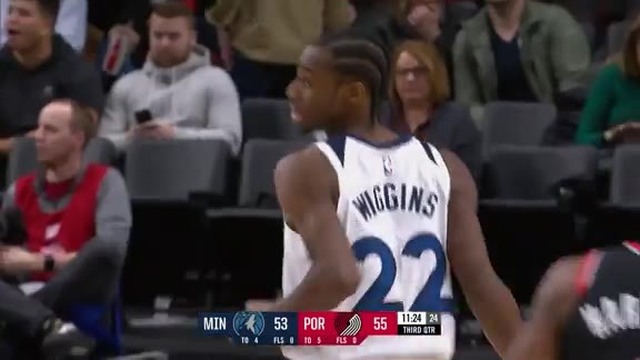 Wiggins With The Nifty Layup