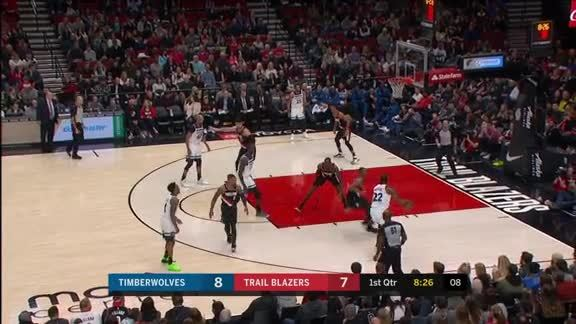 Wiggins Moves To 3rd In Timberwolves' All-Time Scoring