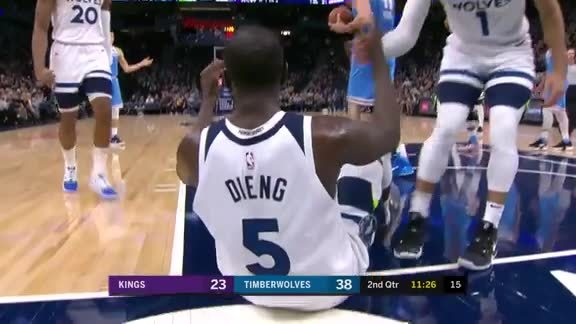 Jones With The Dime To Gorgui