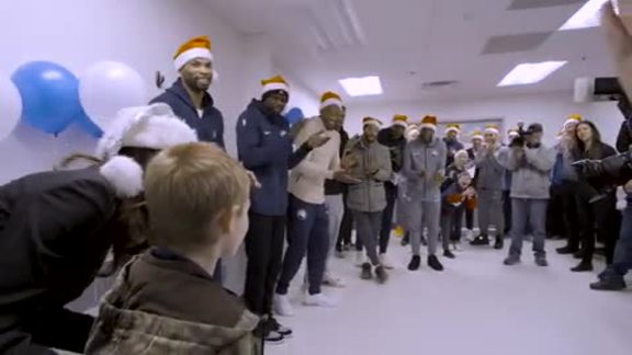 Timberwolves Giving Back During The Holiday Season