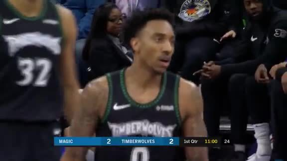 Jeff Teague With 23 Points And 10 Assists vs. Magic