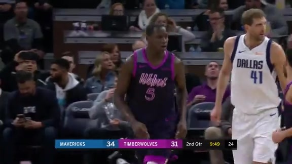 Tyus With The Pocket Pass To Gorgui
