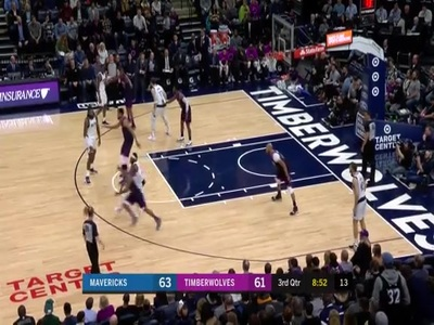 Teague With The Steal And Slam Minnesota Timberwolves