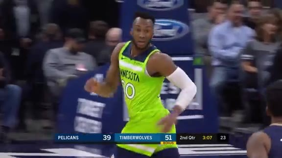 Okogie Hangs In The Air For Pretty Jumper
