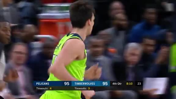 The Homie Dario With A Huge Three-Pointer In The Fourth