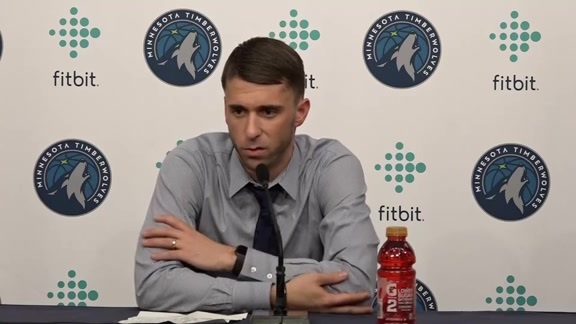 Ryan Saunders After First-Career Home Win