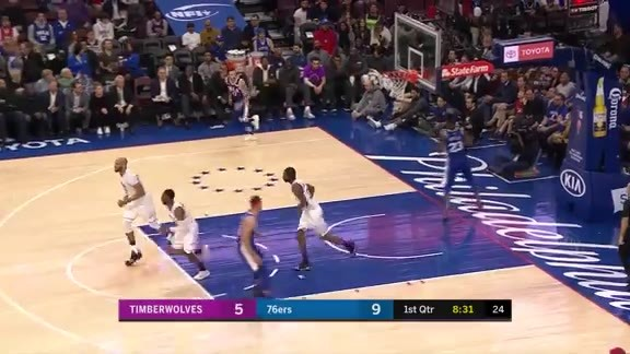Wiggins With The Slam