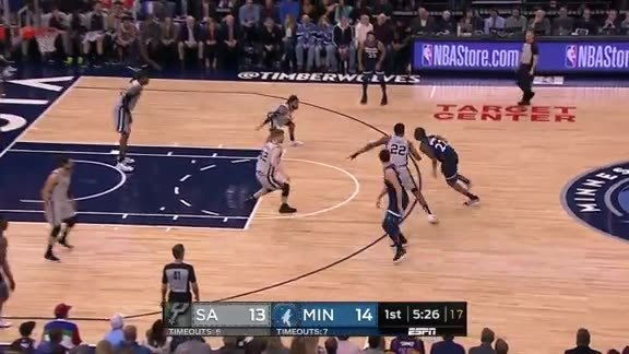 Wiggins Finds Dieng For The Corner Three