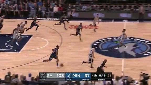 Okogie With A Crazy Finish In Transition