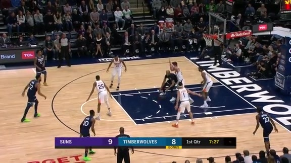 KAT With The Put-Back Slam