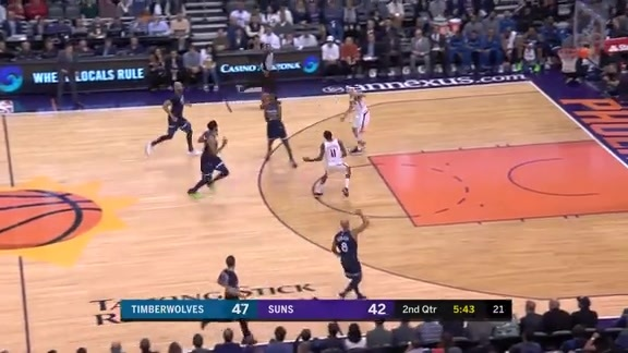 KAT Steals And Bayless Nails The Three