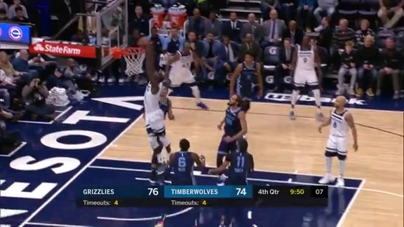 Gorgui Hammers It Home