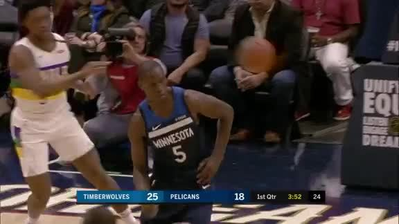 Teague Returns To Action With A Dime To Gorgui
