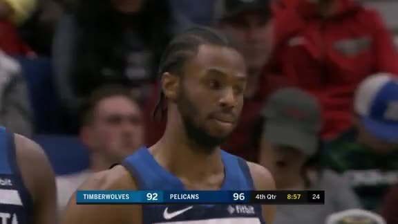 Wiggins Gets The Hoop And The Harm On A Tough Jumper