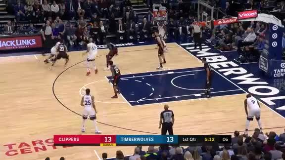 Teague With The Nasty Crossover