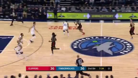 Okogie With The Steal, Bayless With The Bucket
