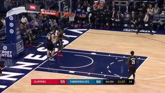 Teague With The Steal And Score