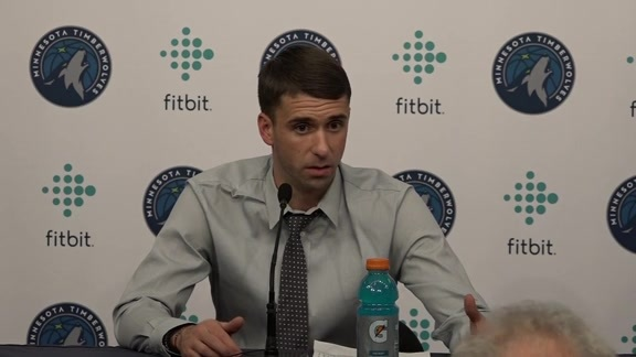 Ryan Saunders After Wolves Beat Clippers