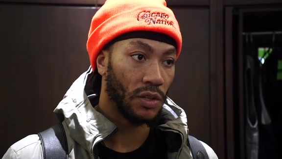Postgame - Feb. 13 | Derrick Rose