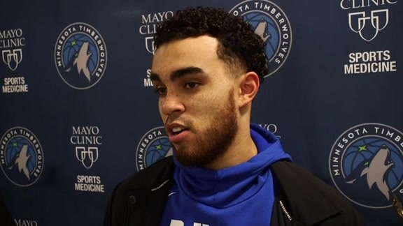 Practice Report - Feb. 20 | Tyus Jones