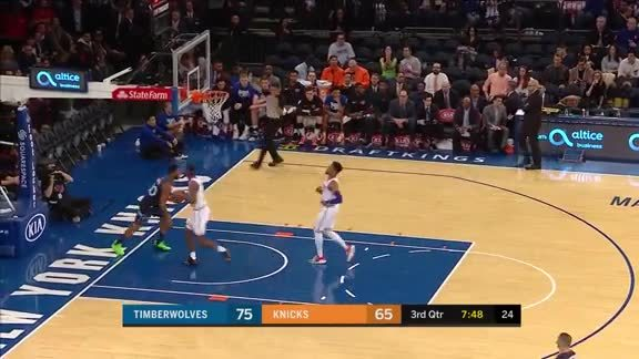 Okogie With The Steal And Slam