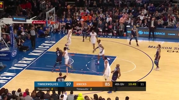 Highlights: Anthony Tolliver Drills 4 3-Pointers In Win Over Knicks