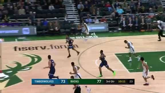 Okogie Fights Through The Defense