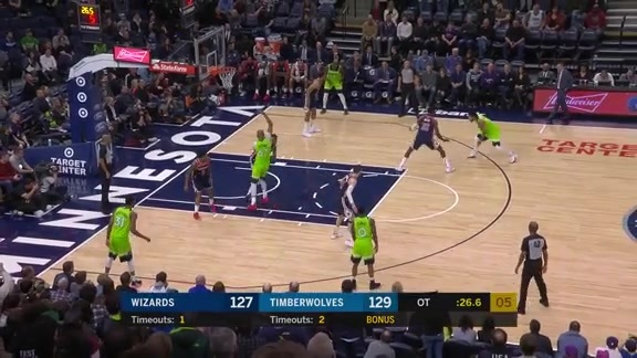 Highlights | Derrick Rose With 29 Points vs. Wizards