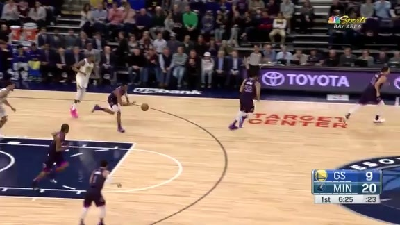 Okogie Steals And Wiggins Finishes In Traffic