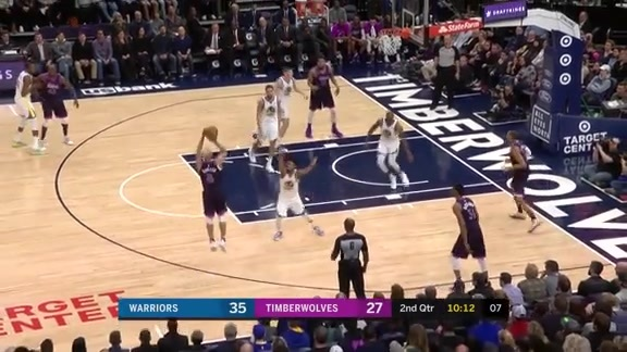 Towns Finds Bayless For Three