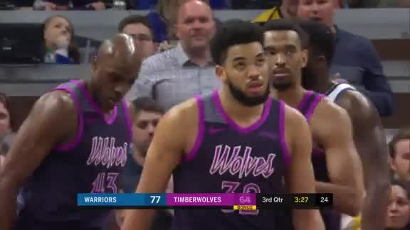 Towns Finishes Strong In The Paint