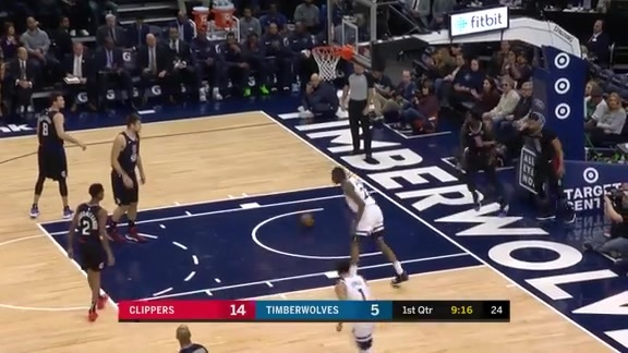 Highlights | Andrew Wiggins With 22 Points vs. Clippers