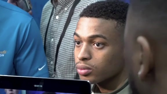 2019 NBA Combine Interview | Keldon Johnson