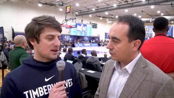 Interview With Gersson Rosas At NBA Combine
