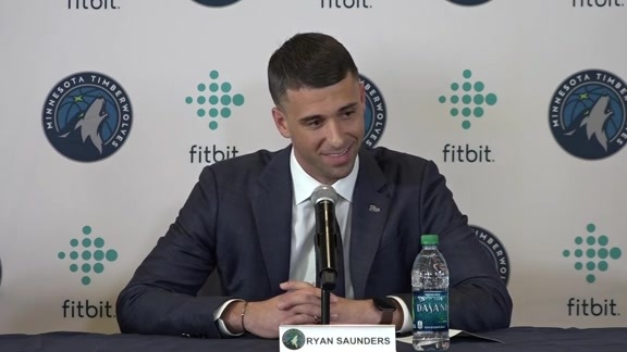 Introductory Press Conference | Ryan Saunders
