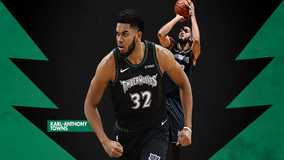 Karl-Anthony Towns 2018-19 Highlights