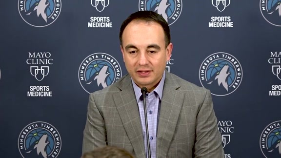 2019 Post-Draft Press Conference   Gersson Rosas