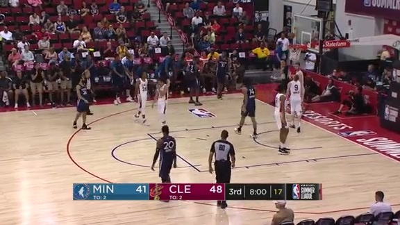 Keita Bates-Diop With 17 Points In Summer League Win Over Cavs