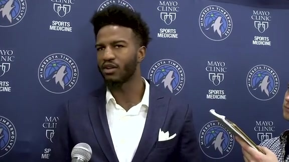 Introductory Press Conference | Jordan Bell